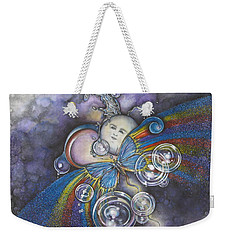 Into The Cosmos Weekender Tote Bag