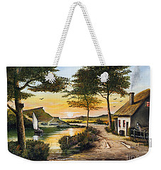 Irish Retreat Weekender Tote Bag
