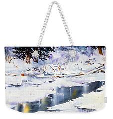 Jack Creek The Wrangells Weekender Tote Bag