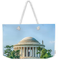 Jefferson Memorial Weekender Tote Bag by Ray Warren