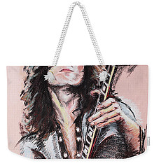 Jimmy Page Weekender Tote Bag by Melanie D