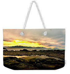Weekender Tote Bag featuring the photograph Kaikoura Coast New Zealand by Amanda Stadther