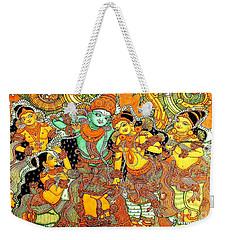 Krishna In Vrindavan Weekender Tote Bag