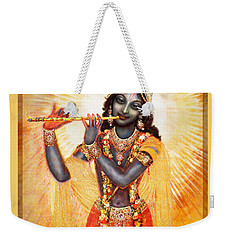 Krishna With The Flute Weekender Tote Bag