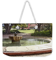 La Purisima Fountain Weekender Tote Bag