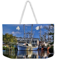 Weekender Tote Bag featuring the photograph Lady Helen by Victor Montgomery