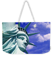 Lady Liberty Weekender Tote Bag by Jon Neidert