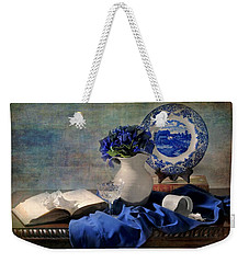 Lady's Got The Blues Weekender Tote Bag