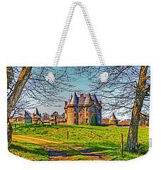Chateau De Landale Weekender Tote Bag by Elf Evans