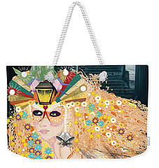 Lantern Fairy Weekender Tote Bag by Kim Prowse