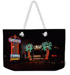 Las Vegas 1983 Weekender Tote Bag by Frank Romeo