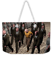 Last March Of The Non Conformist Weekender Tote Bag by John Alexander