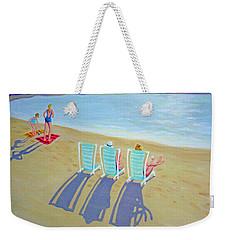 Sunset On Beach - Last Rays Weekender Tote Bag