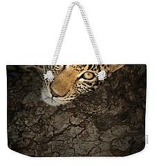 Leopard Portrait Weekender Tote Bag
