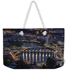 Weekender Tote Bag featuring the photograph Lerez River Pontevedra Galicia Spain by Pablo Avanzini