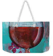 Weekender Tote Bag featuring the painting Let It Breathe by Robin Maria Pedrero