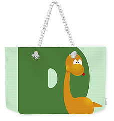 Letter D Weekender Tote Bag by Gina Dsgn