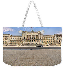 Weekender Tote Bag featuring the photograph Library Of Congress by Peter Lakomy