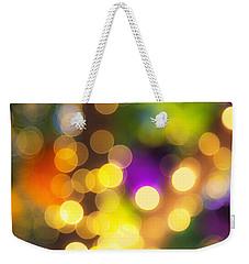 Light Circles Weekender Tote Bag
