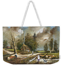 Lightening Tree Weekender Tote Bag