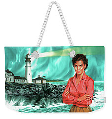 Lighthouse Beauty Weekender Tote Bag
