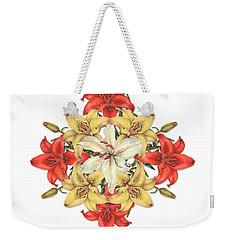 Lily Cluster Weekender Tote Bag