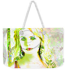 Lily Lime Weekender Tote Bag by Kim Prowse