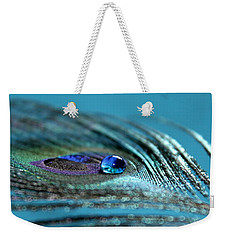 Liquid Blue Weekender Tote Bag