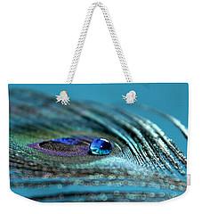 Liquid Blue Weekender Tote Bag