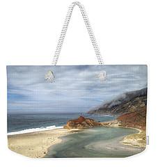 Little Sur River In Big Sur Weekender Tote Bag