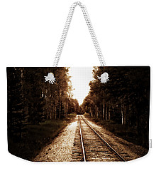 Lonely Railway Weekender Tote Bag