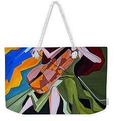 Lost In Music Weekender Tote Bag