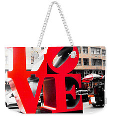 Weekender Tote Bag featuring the photograph Love by J Anthony