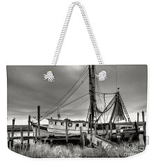 Lowcountry Shrimp Boat Weekender Tote Bag
