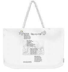 Lullaby And Good Night Weekender Tote Bag