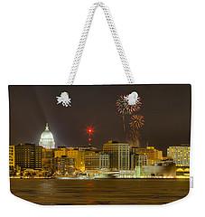 Madison New Years Eve Weekender Tote Bag by Steven Ralser
