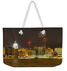 Madison New Years Eve Weekender Tote Bag