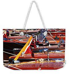 Mahogany Weekender Tote Bag