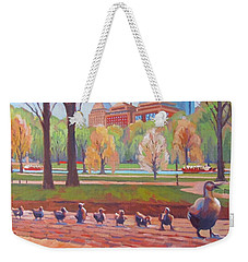 Make Way For Ducklings Weekender Tote Bag
