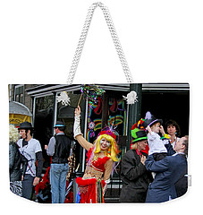 French Quarter Mardi Gras Weekender Tote Bag by Luana K Perez