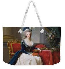 Marie Antoinette Weekender Tote Bag by Elisabeth Louise Vigee-Lebrun