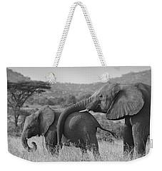 Maternal Love Weekender Tote Bag
