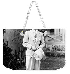 Weekender Tote Bag featuring the photograph Men's Fashion, C1925 by Granger