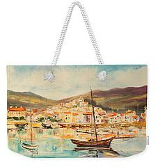 Mentone Harbour Weekender Tote Bag