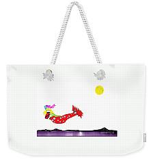 Mermaid 2 Weekender Tote Bag
