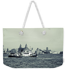 Mersey Ferry Weekender Tote Bag by Spikey Mouse Photography