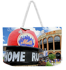 Mets Home Run Apple Weekender Tote Bag