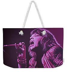 Mick Jagger 2 Weekender Tote Bag