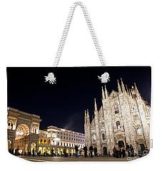 Milan Cathedral Vittorio Emanuele II Gallery Italy Weekender Tote Bag