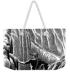 Minotaur, Legendary Creature Weekender Tote Bag by Photo Researchers